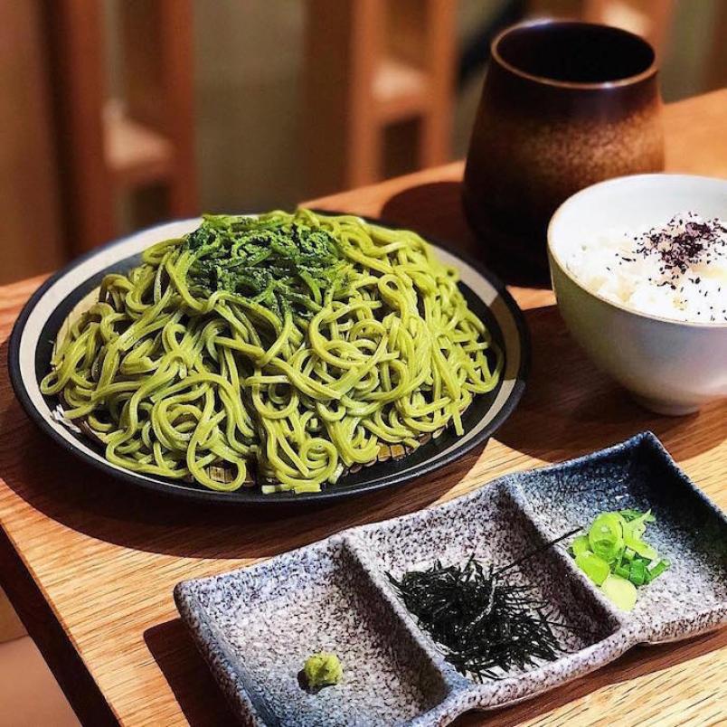 món ngon làm từ matcha trà xanh
