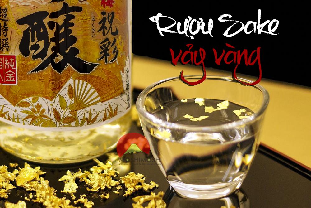 Rượu sake vảy vàng mua ở đâu