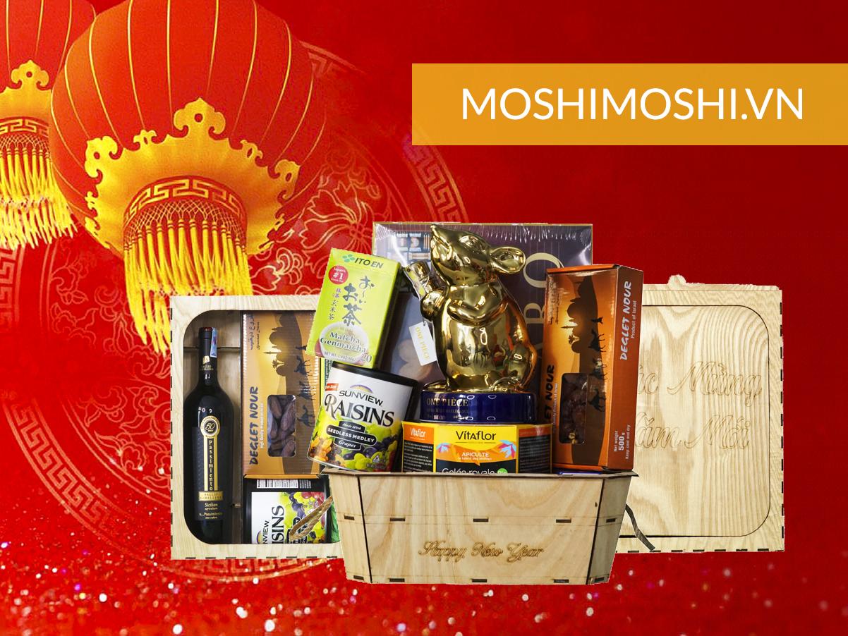 Giỏ quà tết tại moshimoshi