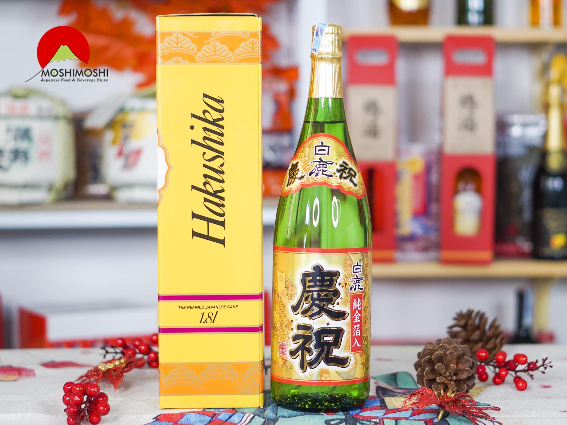 Rượu sake 1,8l