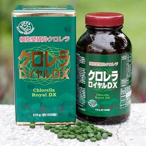 Tảo xanh Chlorella Royal DX (Nhật Bản)