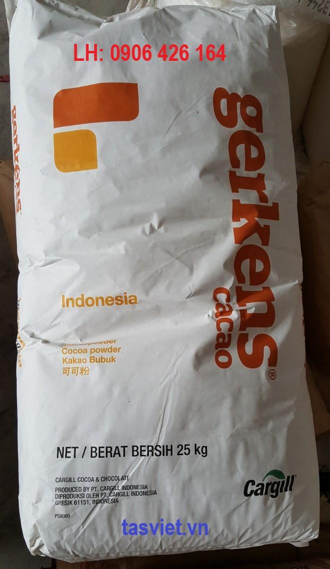 Bột ca cao nguyên chất/Pure cocoa powder Gerkens Cargill