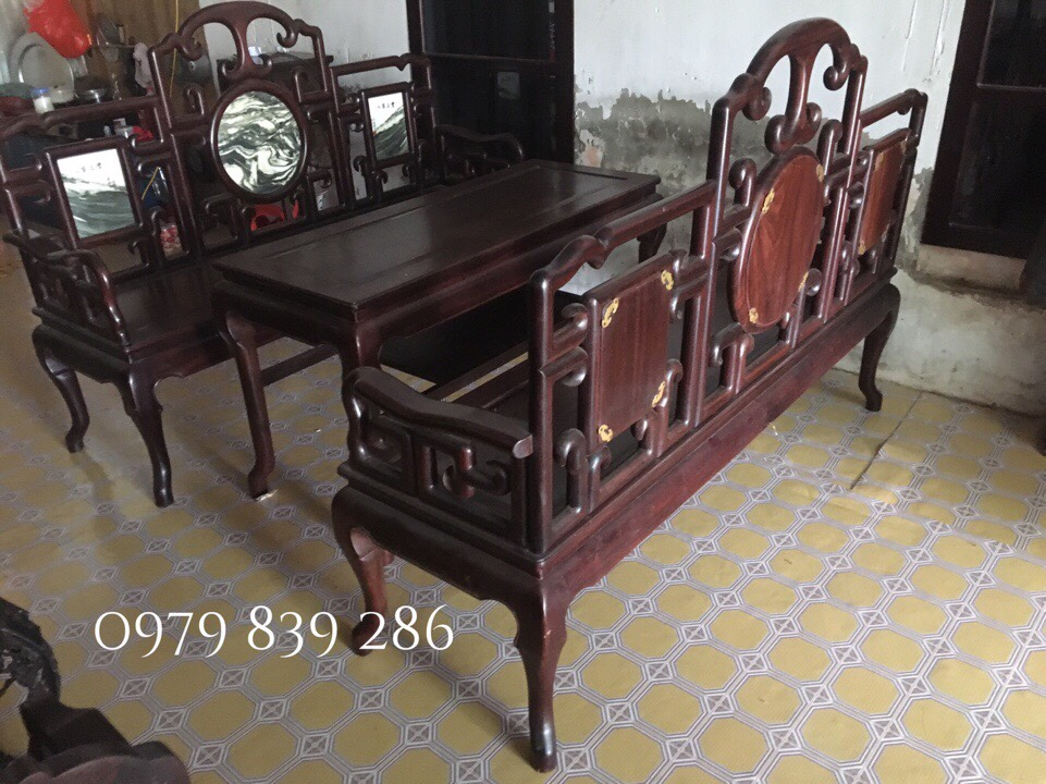 bộ bàn ghế móc MS 13