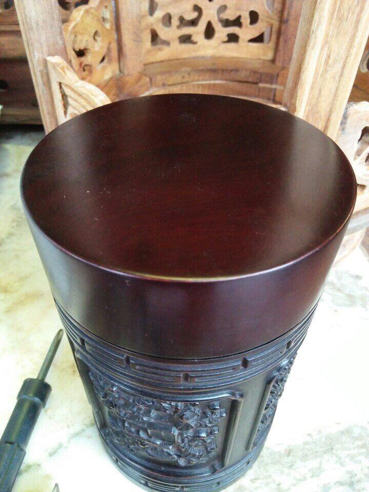 Hộp chè gỗ hương bốn mùa 3
