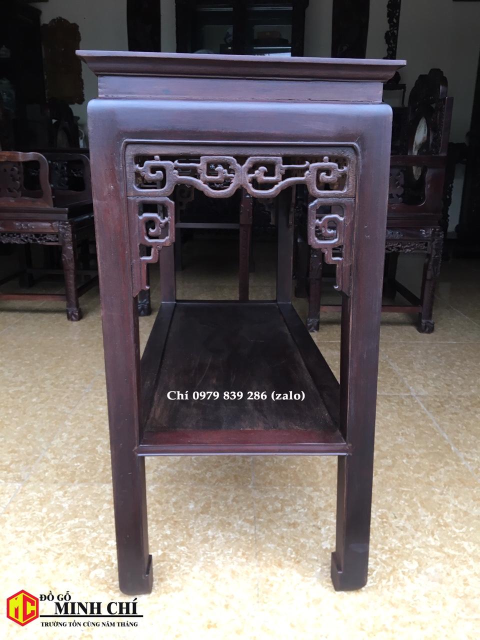 bàn gỗ bầy đồ 7