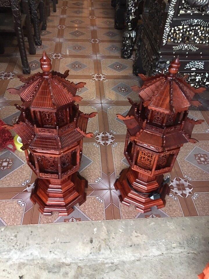 Đèn Gỗ Hương Lục Lăng Cao Cấp  3