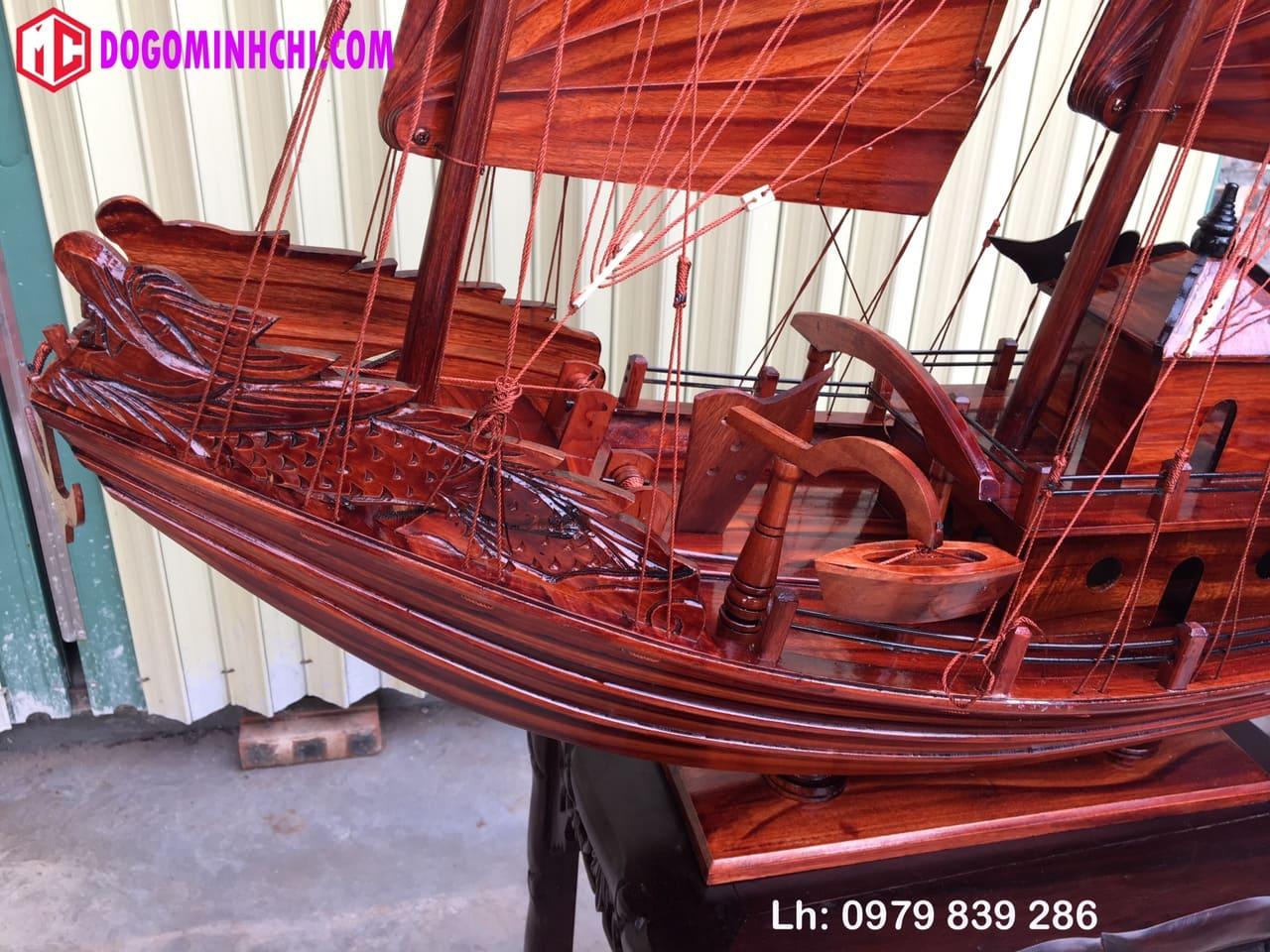 Thuyền buồm rồng hạ long ms 08 2