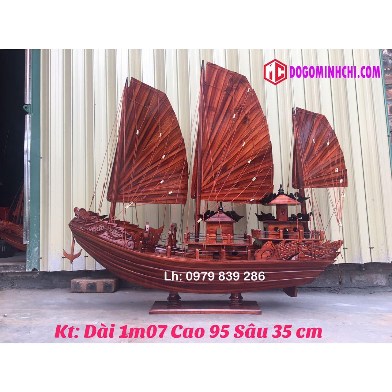 Thuyền buồm rồng hạ long ms 08 1