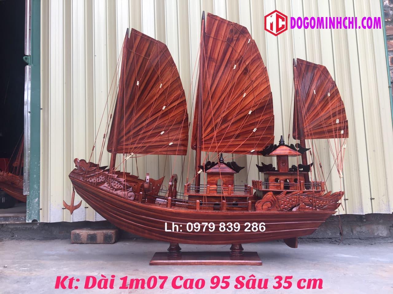 Thuyền buồm rồng hạ long ms 08 6