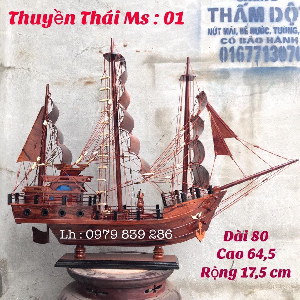 Thuyền Thái MS 06 6