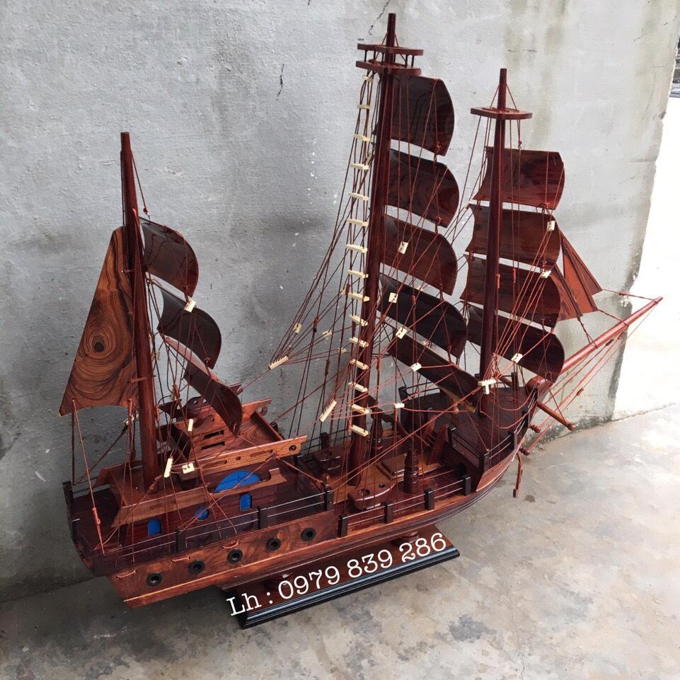 Thuyền Thái Gỗ Cẩm MS 07 3