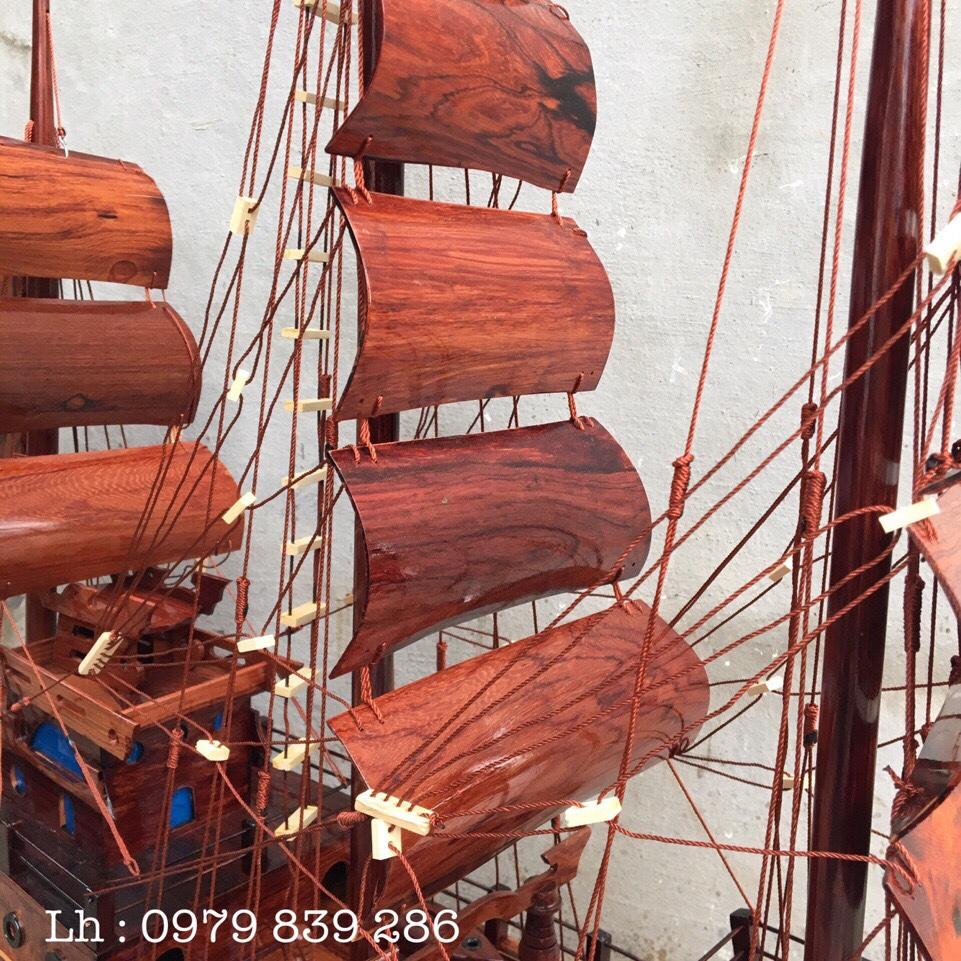 Thuyền Thái Gỗ Cẩm MS 07 5