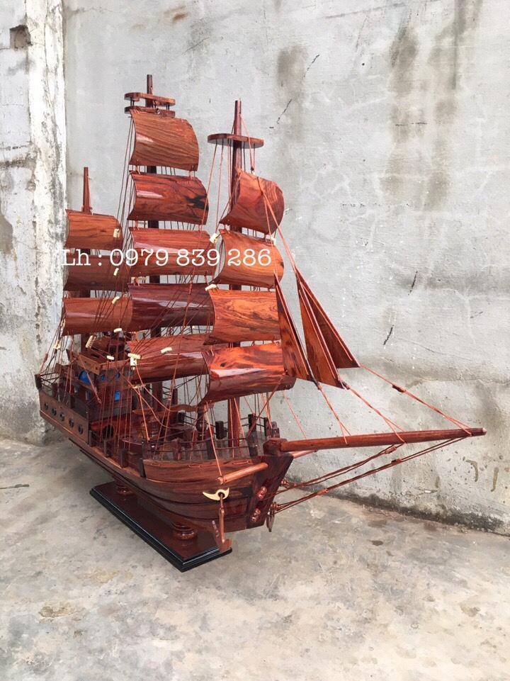 Thuyền Thái Gỗ Cẩm MS 07 6