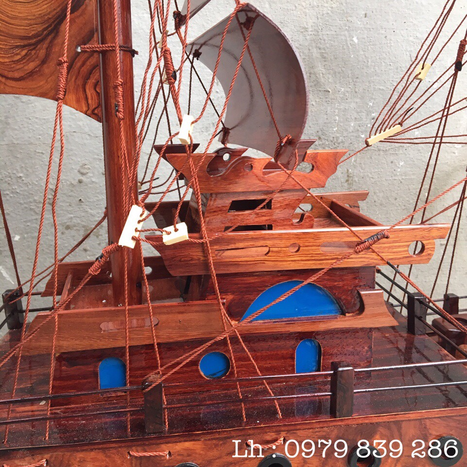 Thuyền Thái Gỗ Cẩm MS 07 2