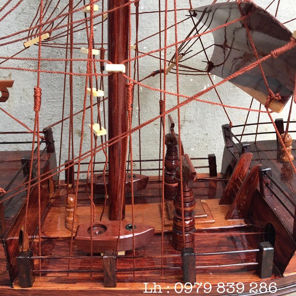 Thuyền Thái Gỗ Cẩm MS 07 7