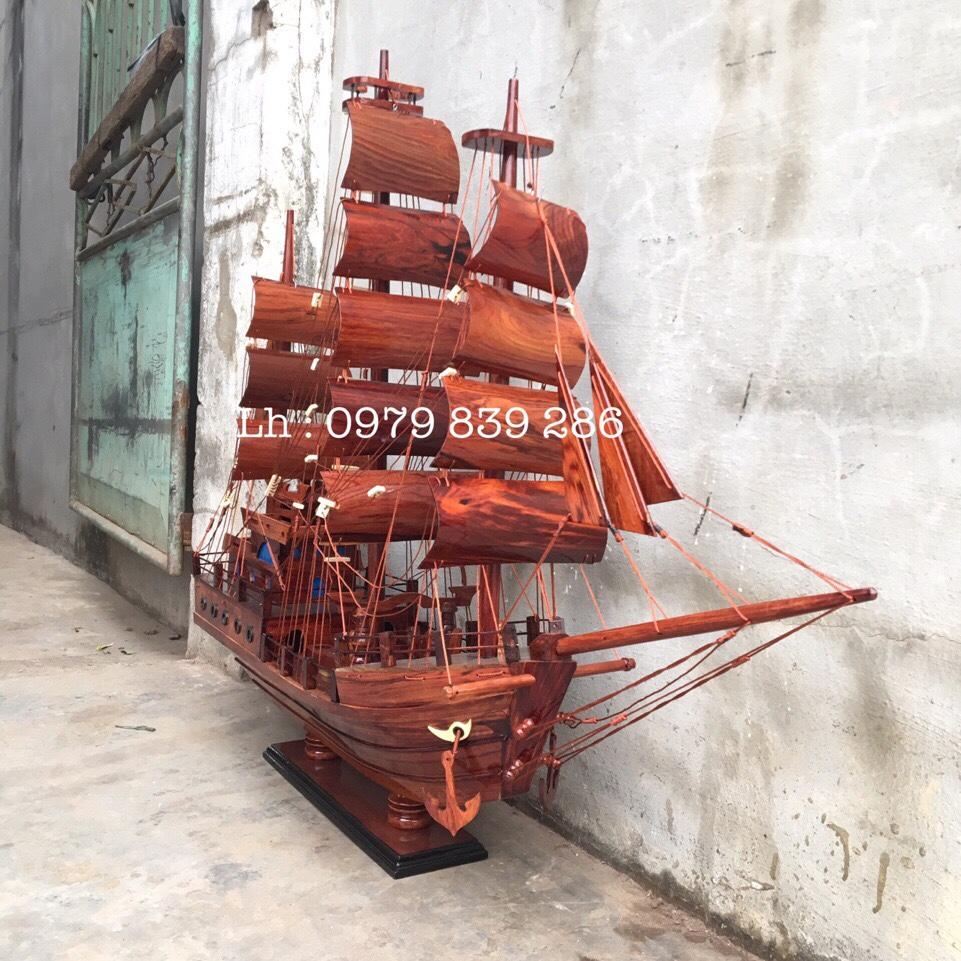 Thuyền Thái Gỗ Cẩm MS 07 8
