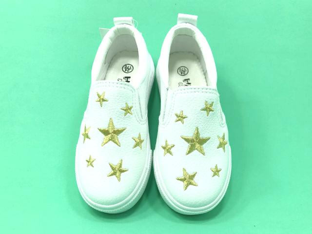 giày slipon trắng ngôi sao tphcm