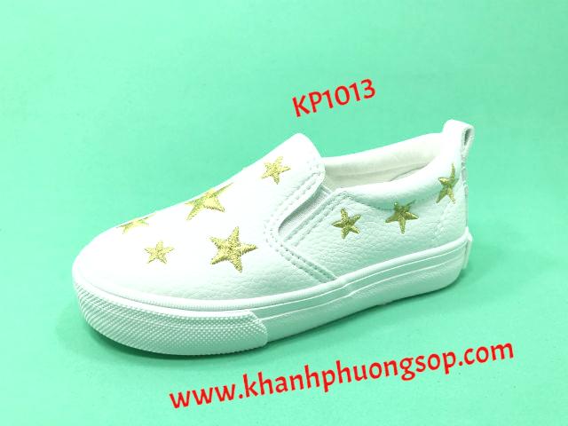 giày slipon trắng ngôi sao