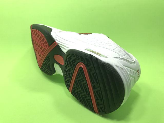 Giày thể thao Prince trắng đỏ da nam - KP3008