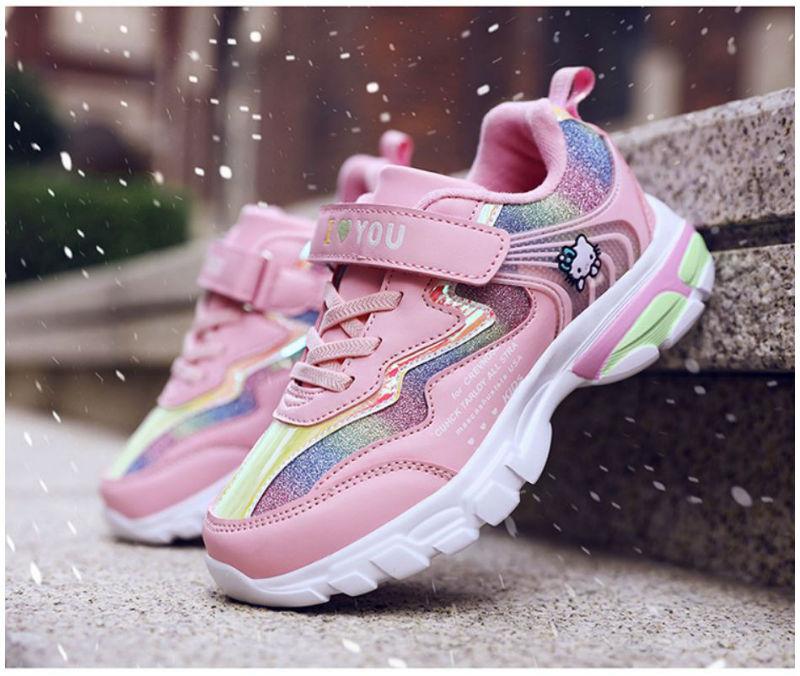 Giày thể thao cao cấp siêu nhẹ hồng kitty 2020