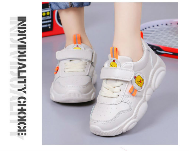 Giày thời trang trắng bé gái - KP2033