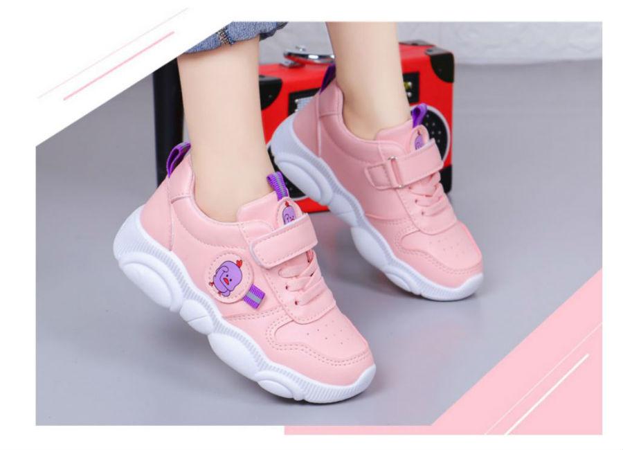 Giày thời trang hồng bé gái - KP2034