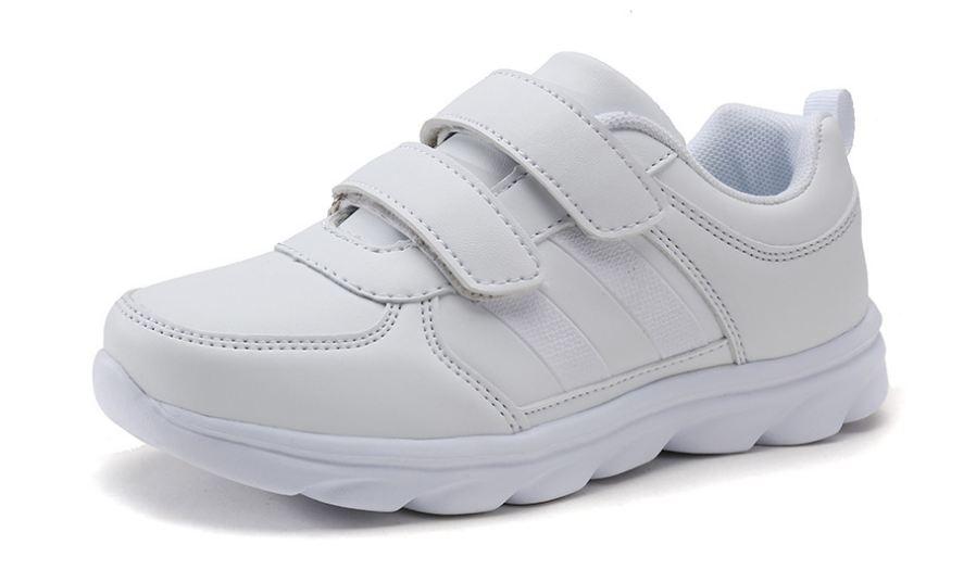 Giày trắng 2 dán trẻ em siêu nhẹ - KP1021