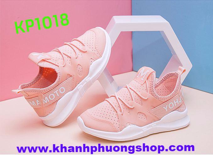 Giày  sneaker hồng M trẻ em siêu nhẹ - KP1018