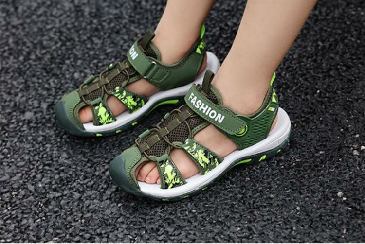 Giày sandal bít mũi thời trang bé trai - KP2020