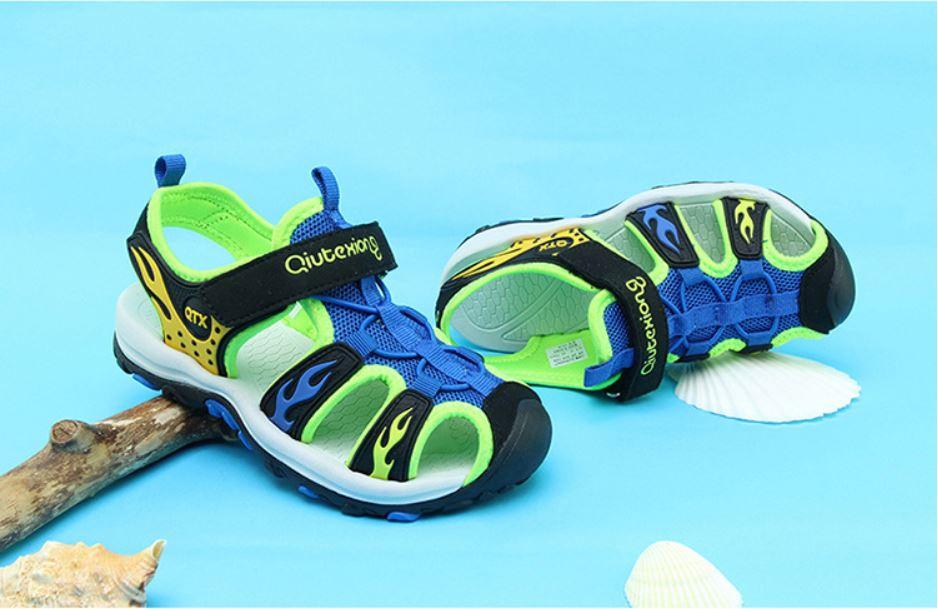 Sandal bít mũi thời trang bé trai - KP2021