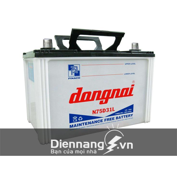 Ắc quy Đồng Nai 75D31 (12V - 75Ah)