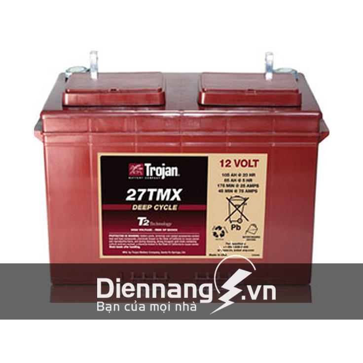 Ắc quy máy chà sàn TROJAN 27TMX (12V - 105Ah)