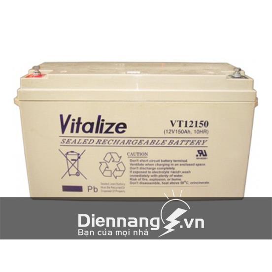 Ắc Quy VITALIZE VT12150 (12V - 150Ah)