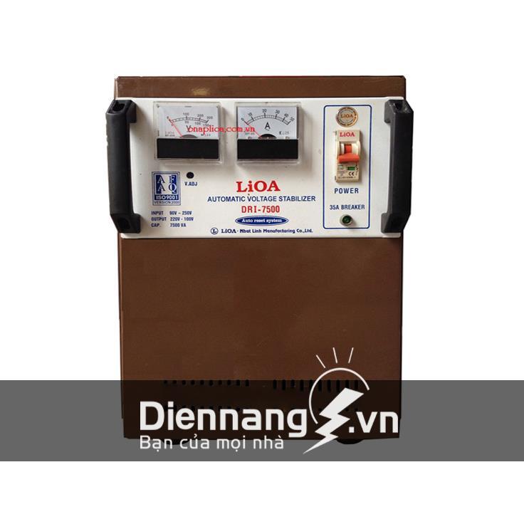 Ổn áp Lioa 1 pha DRI 7,5KVA (90V - 250V)