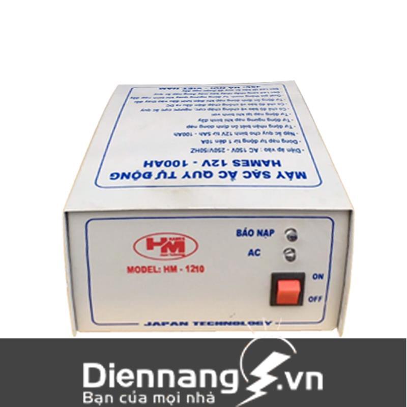 Máy sạc ắc quy tự động Hames (12V - 100Ah)