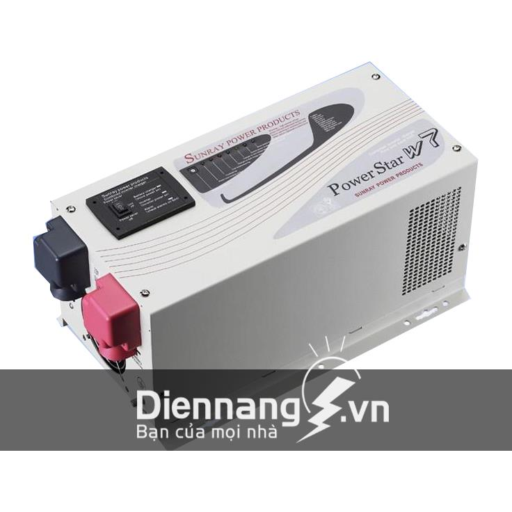 Máy đổi điện - inverter - máy kích điện POWERSTAR W7 - 1000W