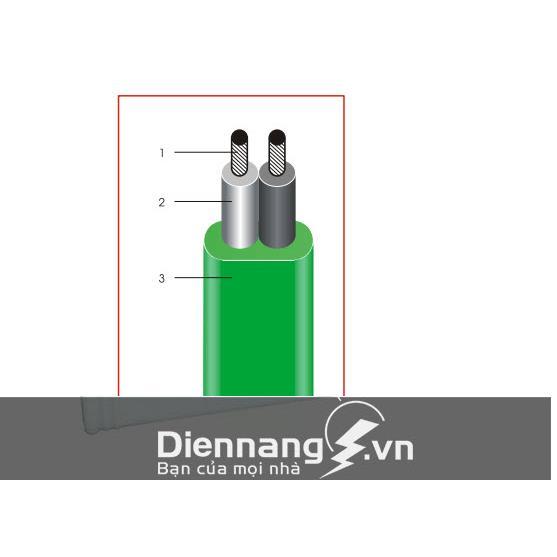 Dây dẹt bọc PVC (Lioa)
