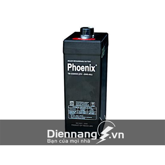 Ắc quy Phoenix 2V-200Ah TS22000