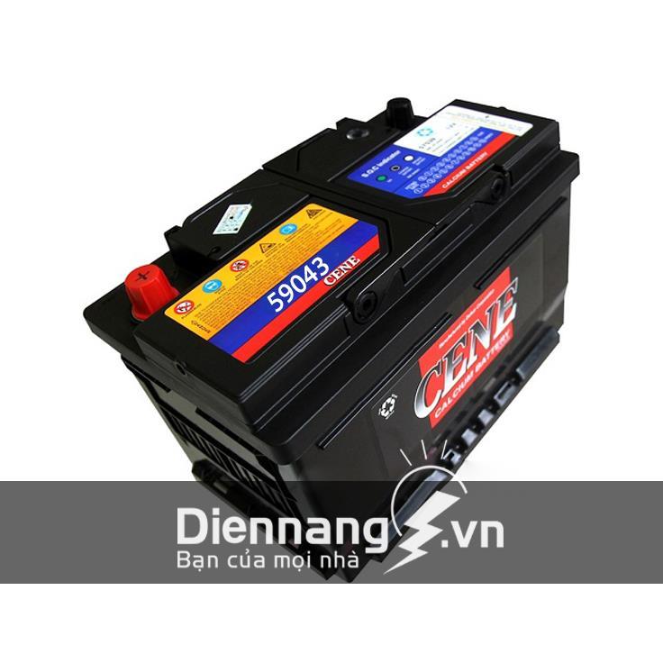 Ắc quy CENE DIN 59043 (12V - 90Ah)