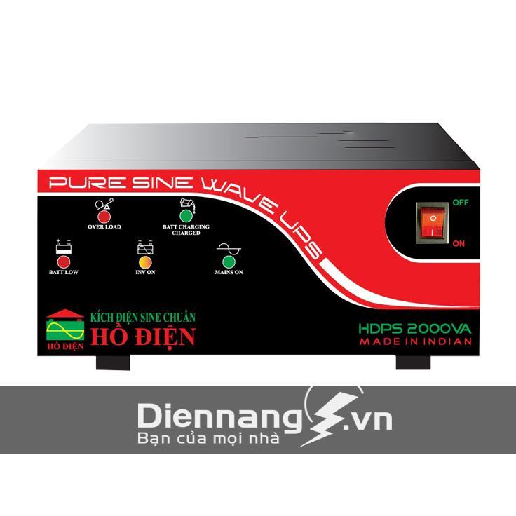 Máy đổi điện – inverter – máy kích điện HỒ ĐIỆN 2000A - 24V HDPS  - 2000AD