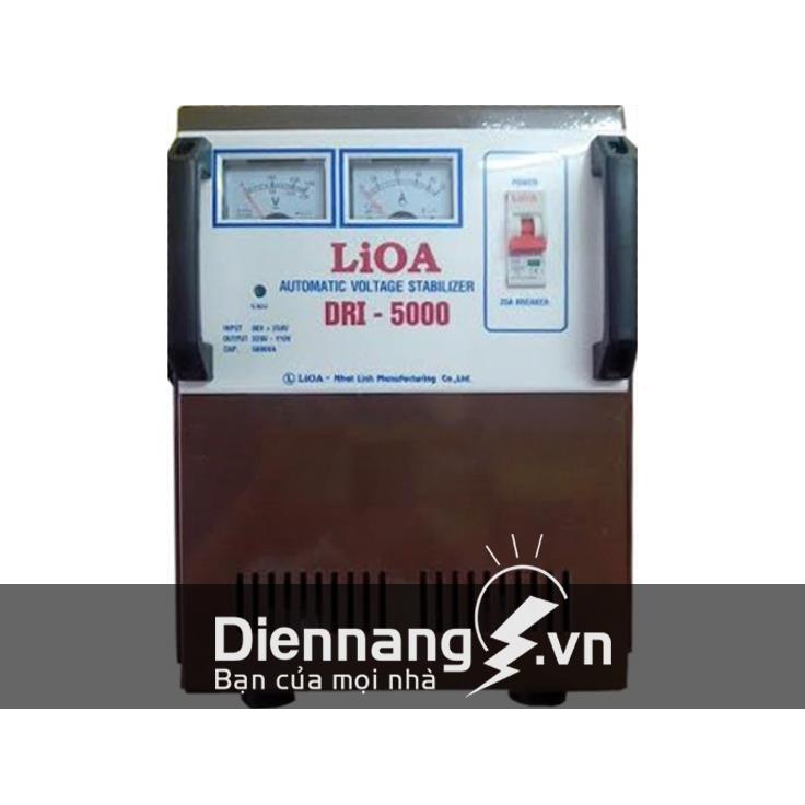 Ổn áp Lioa 1 pha DRI 5KVA (90V - 250V)
