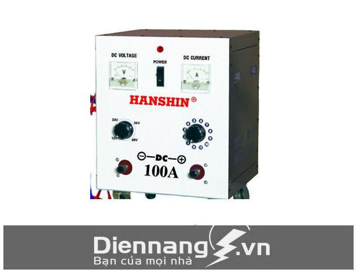 Máy sạc (Nạp) ắc quy Hanshin 100A (12V - 24V - 36V - 48V)
