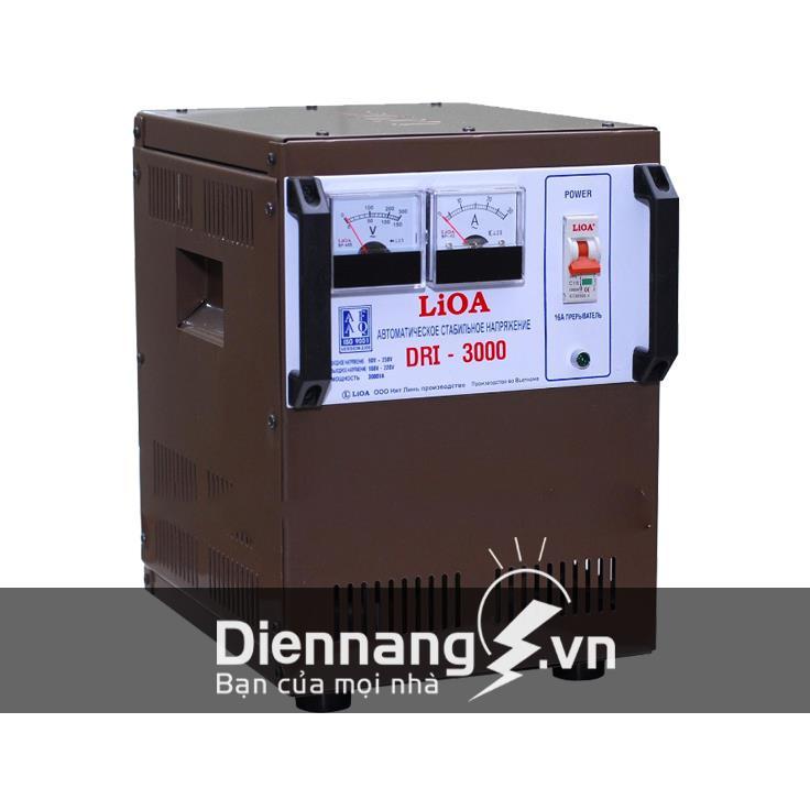 Ổn áp Lioa 1 pha DRI 3KVA (90V - 250V)