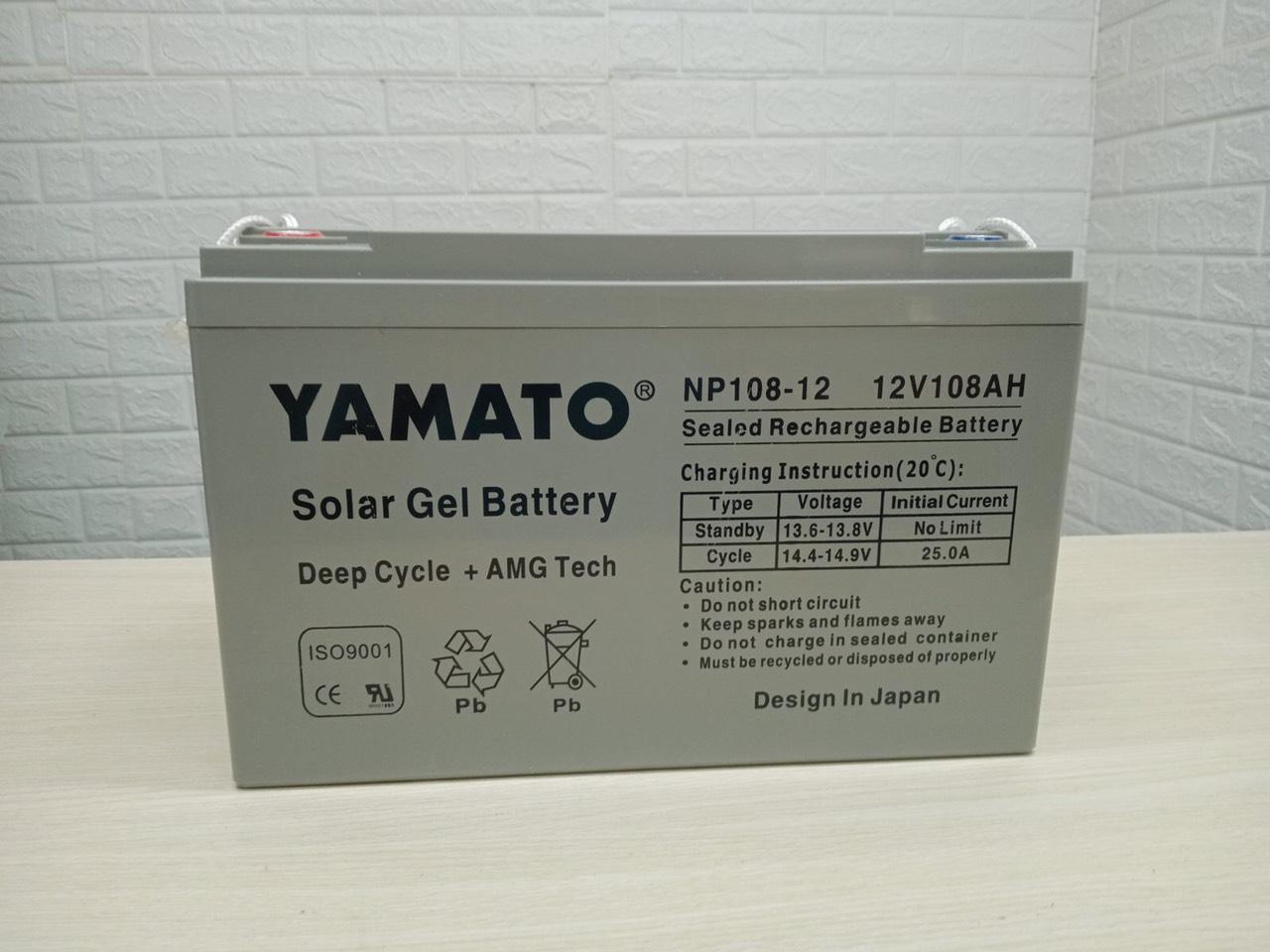 Ắc quy Yamato NP 108-12 (12v 108ah).