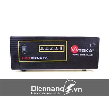 Máy đổi điện - inverter - máy kích điện Toka 500VA - 12V