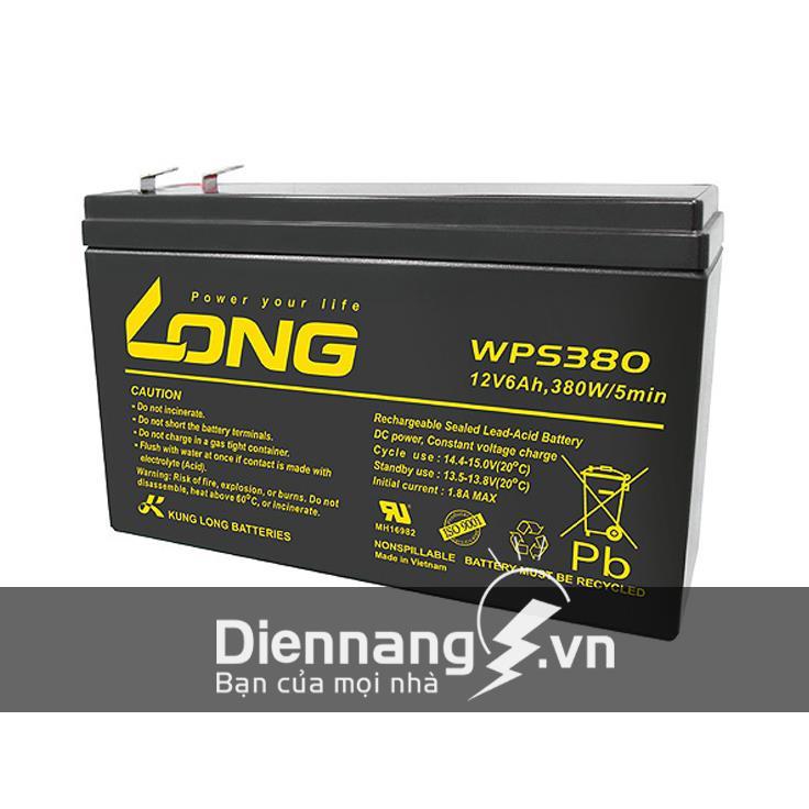 Ắc quy Long WPS380 (12V-6Ah)