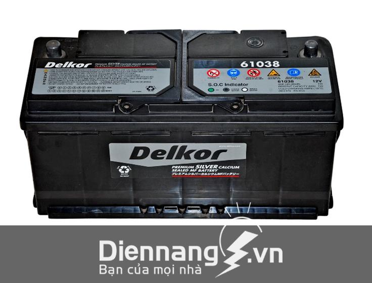 Ắc Quy Delkor Din 61038 (12V – 110Ah)