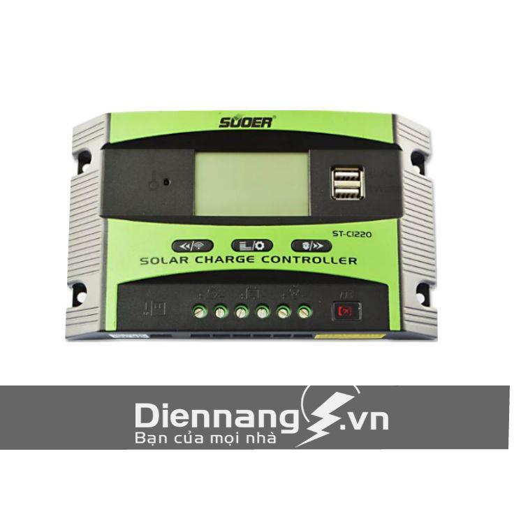 Bộ điều khiển sạc NLMT Suoer ST - C1220