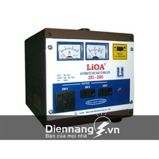 Ổn áp Lioa 1 pha DRI 2KVA (90V - 250V)