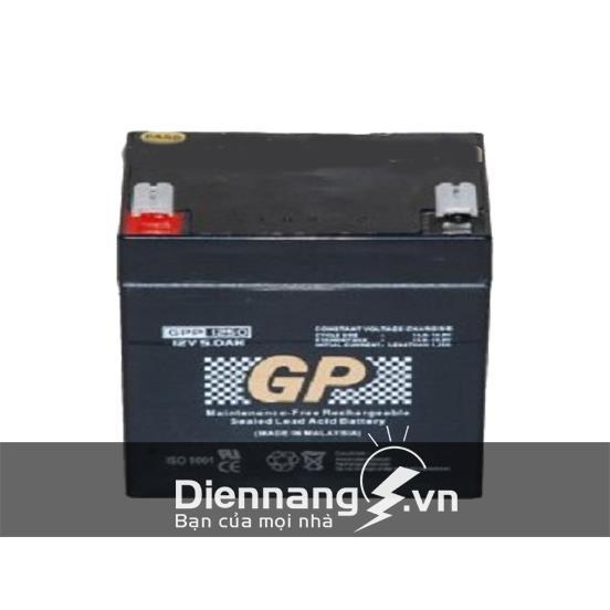 Ắc quy GP GPP6120 (6V - 12AH)